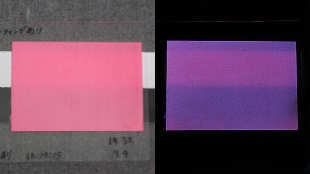 蓄光を良く光らせるために《マルチカラー基本3_ベース顔料と背景色の影響》
