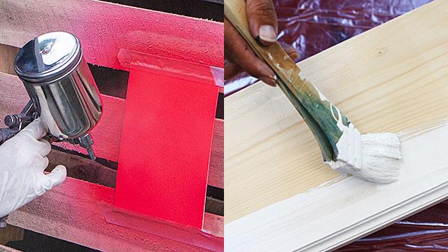 蓄光塗料《1液アクリルラッカータイプ・使い方具体例》【ルミックカラー商品別マニュアル】