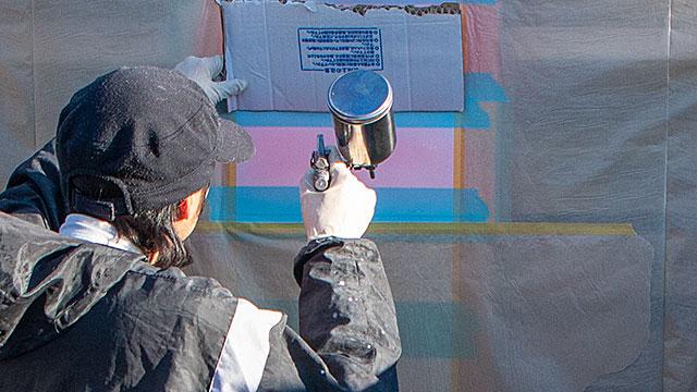 蓄光塗料《2液アクリルウレタンタイプ・使い方具体例》【ルミックカラー商品別マニュアル】
