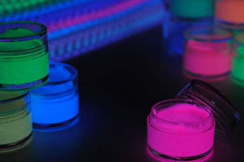 ルミックカラー繊維用蓄光インク
