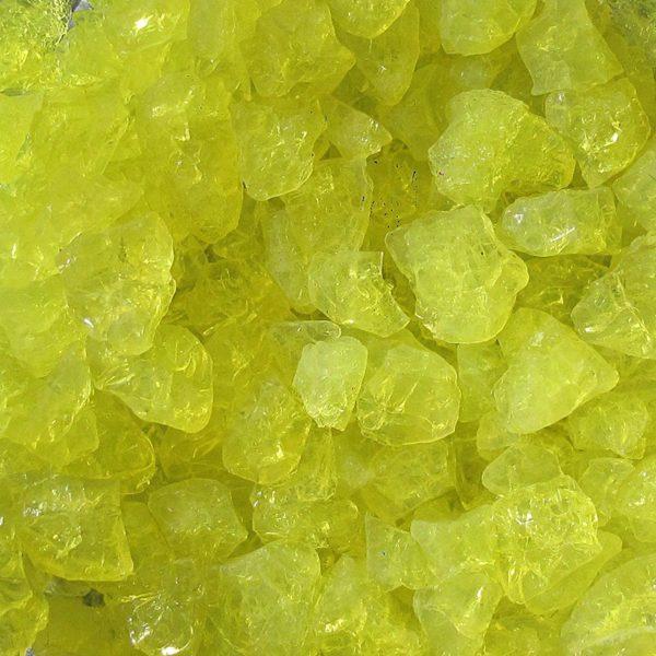 Lemon Yellow(レモンイエロー)【カラーシリカ・クラッシュクリスタル】