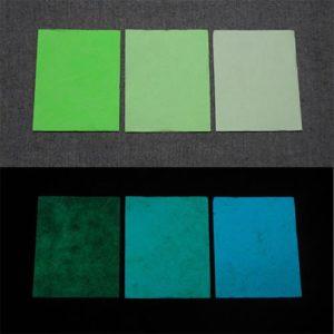 Blue発光ベース 0050【(グリーン着色)ルミックカラー小原蓄光和紙】