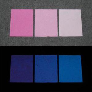 Blue発光ベース 0090【(パープル・ピンク着色)ルミックカラー小原蓄光和紙】