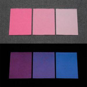 Blue発光ベース 0100【(ピンク着色)ルミックカラー小原蓄光和紙】