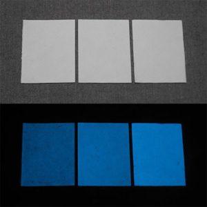 Blue発光ベース 0110【(ホワイト着色)ルミックカラー小原蓄光和紙】