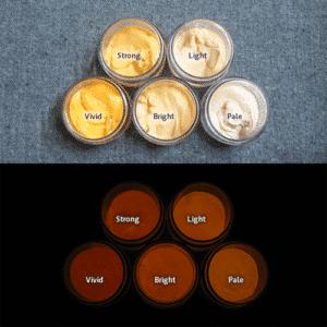Orange発光ベース 0030【(オレンジ着色)ルミックカラー繊維スクリーンプリント用蓄光インク】