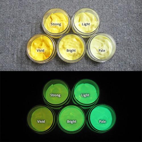 Green発光ベース 0040【(イエロー着色)ルミックカラー繊維スクリーンプリント用蓄光インク】