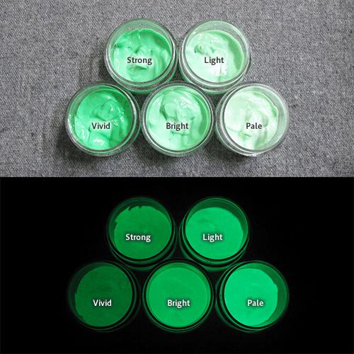 Green発光ベース 0060【(グリーン着色)ルミックカラー繊維スクリーンプリント用蓄光インク】