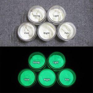 Green発光ベース 0110【(ホワイト着色)ルミックカラー繊維スクリーンプリント用蓄光インク】