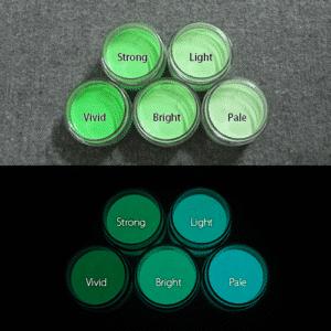 Blue発光ベース 0050【(グリーン着色)ルミックカラー繊維スクリーンプリント用蓄光インク】