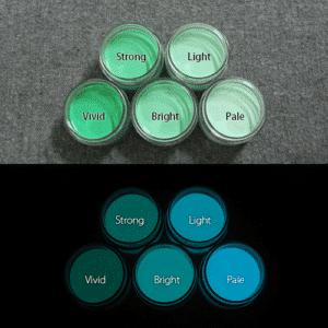 Blue発光ベース 0060【(グリーン着色)ルミックカラー繊維スクリーンプリント用蓄光インク】