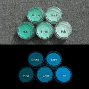 Blue発光ベース 0065【(グリーン着色)ルミックカラー繊維スクリーンプリント用蓄光インク】