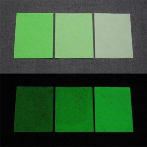 Green発光ベース 0050【(グリーン着色)ルミックカラー小原蓄光和紙】