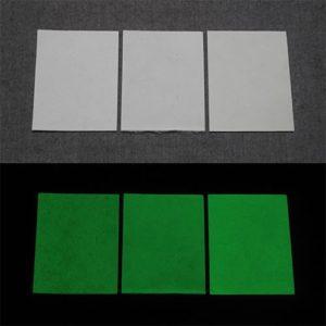 Green発光ベース 0110【(ホワイト着色)ルミックカラー小原蓄光和紙】