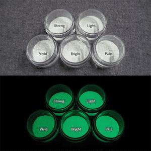 Green発光ベース 0110【(ホワイト着色)ルミックカラー蓄光パウダー】