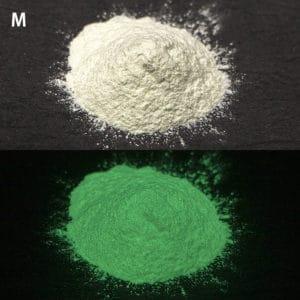 N_Green G300M(PS2)耐水性あり【(グリーン発光)ルミックカラー蓄光パウダー】