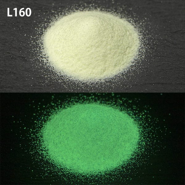 N_Green G300 L160耐水性なし【(グリーン発光)ルミックカラー蓄光パウダー】
