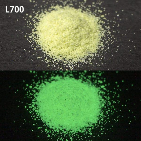 N_Green G300 L700耐水性なし【(グリーン発光)ルミックカラー蓄光パウダー】