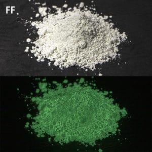 N_Green GLL300 FF(PS2)耐水性あり【(高輝度グリーン発光)ルミックカラー蓄光パウダー】