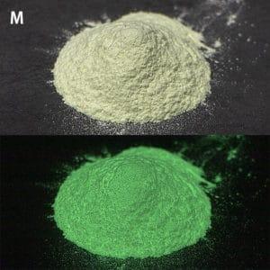 N_Green GLL300 M耐水性なし【(高輝度グリーン発光)ルミックカラー蓄光パウダー】